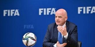 Le Président Infantino s'adresse au G20 pour évoquer la lutte contre la corruption dans le sport   © FIFA.com