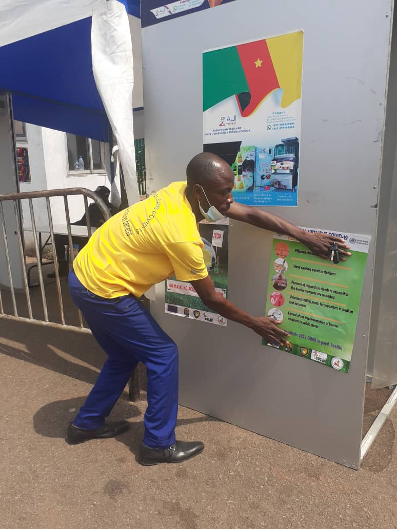 Covid-19 au Cameroun : FAMILY CLUB apporte sa pierre pour briser la chaine de contamination