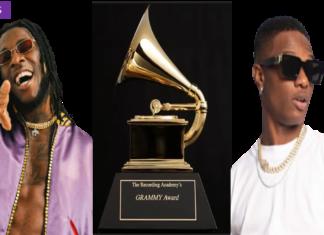 Grammy awards Burna Boy et Wizkid